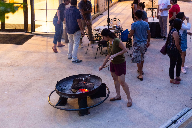 spin campfire
