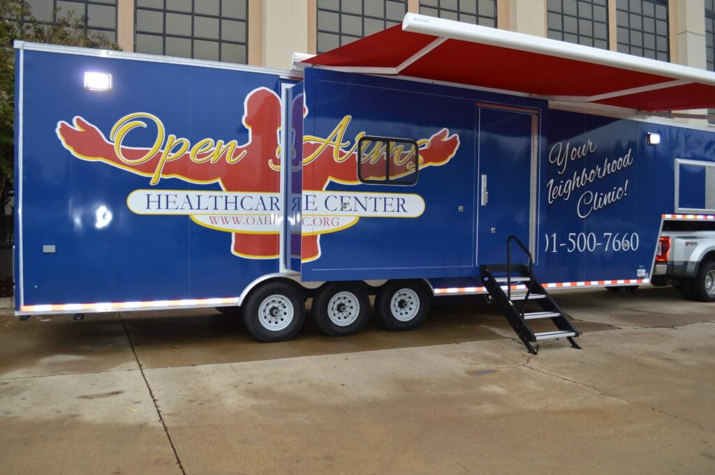 Open Arms mobile clinic